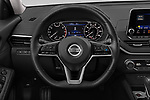 Car pictures of steering wheel view of a 2020 Nissan Altima SL 4 Door Sedan