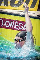 Lily King of USA celabrates after winning the women's 100m breastroke final during 18th Fina World Championships Gwangju 2019 at Nambu University Municipal Aquatics Centre, Gwangju, on 23  July 2019, Korea.  Photo by : Ike Li / Prezz Images