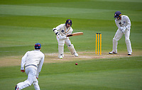 Devon Conway bats during day three of the Plunket Shield match between the Wellington Firebirds and Auckland Aces at the Basin Reserve in Wellington, New Zealand on Monday, 16 November 2020. Photo: Dave Lintott / lintottphoto.co.nz