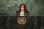 Venezuela (Bolivarian Republic of)<br /> H.E. Ms. Delcy Eloína Rodríguez Gómez<br /> Minister for Foreign Affairs<br /> <br /> General Assembly Seventy-first session, 17th plenary meeting<br /> General Debate