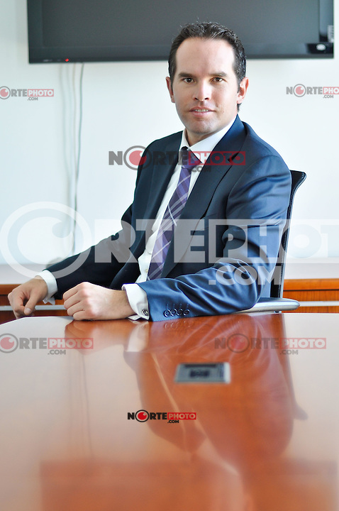 Lic.   EUGENIO FRANZONI GÓMEZ, Presidente del IMEF de Querétaro.<br /> <br /> Credito:RicardoLugo/NortePhoto.com