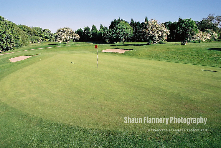 Pix: Shaun Flannery/shaunflanneryphotography.com...COPYRIGHT PICTURE>>SHAUN FLANNERY>01302-570814>>07778315553>>..18th May 2004..............Hickleton Golf Club, Lidgett Lane, Hickleton, Doncaster, DN5 7BE..Golf Course - 12th green.
