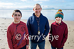 Enjoying a stroll in Ballyheigue beach on Saturday, l to r: Ryan, Pete and Issac Vickers.