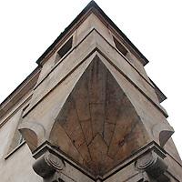 Marais: A close view on the corner of the Hotel d'Angouleme Lamoignon -XVII century- that was a gatekeeper lodge. This is an enlargement of the original photo (Paris, 2011).<br /> <br /> Marais: Una vista dettagliata dell'angolo de l'Hotel d'Angouleme Lamoignon -XVII secolo- che era una guardiola. Questo è un ingrandimento della foto originale (Parigi, 2011).