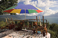Guatemala, Souvenirverkauf am Atitlan-See