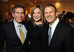 From left: The Chronicle's Jeff Cohen, Becca Cason-Thrash and Tilman Fertitta at the Houston Chronicle's Best Dressed announcement party at Neiman Marcus Wednesday Feb 01,2012. (Dave Rossman/For the Chronicle)