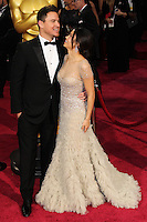 HOLLYWOOD, LOS ANGELES, CA, USA - MARCH 02: Channing Tatum, Jenna Dewan-Tatum at the 86th Annual Academy Awards held at Dolby Theatre on March 2, 2014 in Hollywood, Los Angeles, California, United States. (Photo by Xavier Collin/Celebrity Monitor)