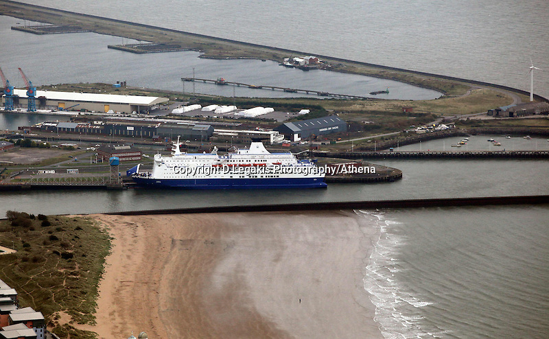 Pictured: Swansea to Cork ferry in the docks. 16 September 2011<br />