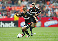 3 April 2004:  DC United Dema Kovalenko in action against Earthquakes during the opening day at RFK Stadium in Washington DC.  DC United defeated Earthquakes 2-1.