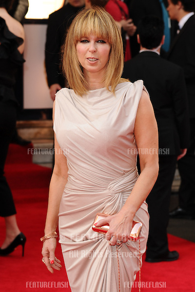 Kate Garaway arriving for the Arqiva British Academy Television Awards (Bafta TV Awards) at Theatre Royal, London. 18/05/2014 Picture by: Steve Vas / Featureflash
