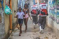 01/05/2020 - HIGIENIZAÇÃO EM COMUNIDADE NO RIO DE JANEIRO