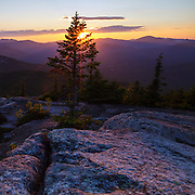 This is the image for August in the 2014 White Mountains New Hampshire calendar. Sunset from Middle Sister Mountain in Albany, New Hampshire USA. Purchase the calendar here: http://bit.ly/1audUBp .