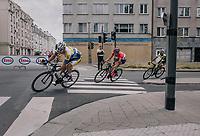 race leaders in the streets of Antwerp<br /> <br /> 2017 National Championships Belgium - Elite Men - Road Race (NC)<br /> 1 Day Race: Antwerpen > Antwerpen (233km)