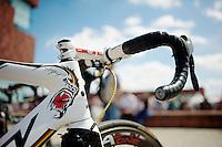 "André ""The Gorilla"" Greipels bike <br /> <br /> World Ports Classic 2014,<br /> stage 2: Antwerpen - Rotterdam (159km)"