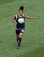 LA Sol's forward Marta. The LA Sol defeated the Washington Freedom 2-0 in the opening game of Womens Professional Soccer at Home Depot Center stadium on Sunday March 29, 2009.  .