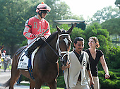 Hard Mystery and Eddie Castro before the Acorn.