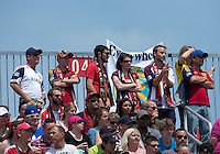 29 June 2013: Real Salt Lake fans show their support during an MLS game between Real Salt Lake and Toronto FC at BMO Field in Toronto, Ontario Canada.<br /> Real Salt Lake won 1-0.