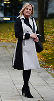 BNPS.co.uk (01202 558833)<br /> Pic: BNPS<br /> <br /> Kate Vovro at Poole Magistrates court.<br /> <br /> A man who kicked in his neighbour's garden fence after returning to find fallen tree branches had been thrown onto his lawn has been convicted of criminal damage.<br /> <br /> Robert Marshall saw red when he found Kate Vovro, a cross-dresser whose legal name is Paul Hockey, had cut back trees that overhung into her back garden and dropped the debris back onto his property.<br /> <br /> CCTV footage showed Marshall shouting 'come and see, I've got something for you' while repeatedly kicking the timber fence that borders their £400,000 detached homes in Verwood, Dorset.<br /> <br /> The footage also showed Marshall and his wife Amanda throwing the tree branches back into Ms Vovro's swimming pool.