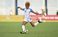 San Diego, CA - Sunday July 30, 2017: Casey Short during a 2017 Tournament of Nations match between the women's national teams of the United States (USA) and Brazil (BRA) at Qualcomm Stadium.