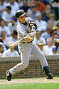 CHICAGO - CIRCA 2000:  Craig Biggio #7 of the Houston Astros bats during an MLB game at Wrigley Field in Chicago, Illinois. Biggio played for 20 seasons, all with the Houston Astros, was a 7-time All-Star and was inducted to the Baseball Hall of Fame in 2015.(David Durochik / SportPics) --Craig Biggio