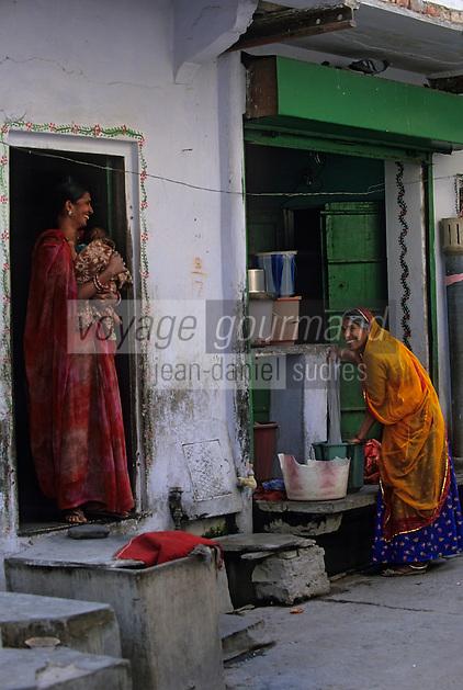 Asie/Inde/Rajasthan/Jaipur: Quartier d'Indra Market
