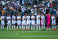 CARSON, CA - JUNE 19: Los Angeles Galaxy starting eleven during a game between Seattle Sounders FC and Los Angeles Galaxy at Dignity Health Sports Park on June 19, 2021 in Carson, California.