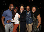 """during the Broadway Opening Night Actors' Equity Legacy Robe Ceremony honoring Jenifer Foote for """"Tootsie"""" at The Marquis Theatre on April 22, 2019  in New York City."""