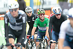Green Jersey Mark Cavendish (GBR) Deceuninck-Quick Step crosses the finish line at the end of Stage 16 of the 2021 Tour de France, running 169km from Pas de la Case to Saint-Gaudens, Andorra. 13th July 2021.  <br /> Picture: Colin Flockton   Cyclefile<br /> <br /> All photos usage must carry mandatory copyright credit (© Cyclefile   Colin Flockton)
