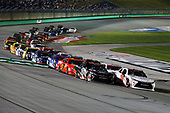 NASCAR XFINITY Series<br /> VisitMyrtleBeach.com 300<br /> Kentucky Speedway<br /> Sparta, KY USA<br /> Saturday 23 September 2017<br /> Kyle Benjamin, Hurricane Relief Toyota Camry and Ryan Preece, Hurricane Relief Toyota Camry leads the field<br /> World Copyright: Barry Cantrell<br /> LAT Images