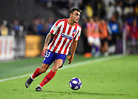 Orlando, FL - Wednesday July 31, 2019:  Carlos Isaac #33 during an Major League Soccer (MLS) All-Star match between the MLS All-Stars and Atletico Madrid at Exploria Stadium.