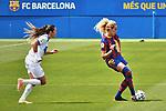 Liga IBERDROLA. Game 16.<br /> FC Barcelona vs UDG Tenerife Egatesa: 6-1.<br /> Ana Maria Gonzalez vs Kheira Hamraoui.