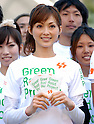 "Moe Oshikiri at ""au smart sports event"""
