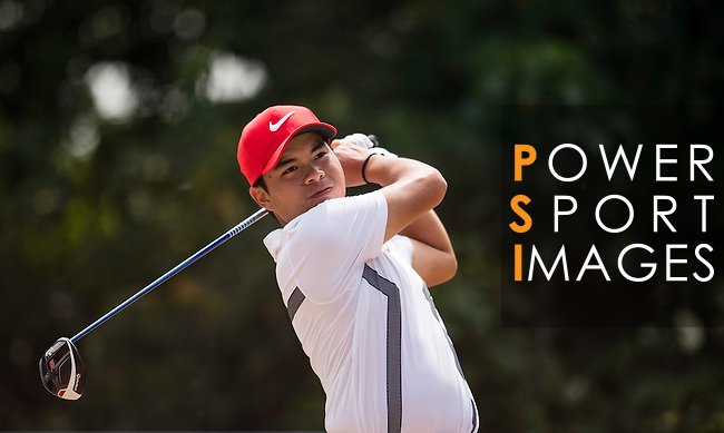 Miguel Tabuena of Philippines in action during the Venetian Macao Open 2016 at the Macau Golf and Country Club on 16 October 2016 in Macau, China. Photo by Marcio Machado / Power Sport Images