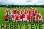 The Brosna U12 team taking part in the Simon Keane Memorial Blitz in Knocknagoshel on Sunday.