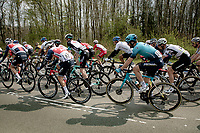 Hugo Houle (CAN/Astana-Premier Tech)<br /> <br /> 85th La Flèche Wallonne 2021 (1.UWT)<br /> 1 day race from Charleroi to the Mur de Huy (BEL): 194km<br /> <br /> ©kramon