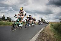 Timo Roosen (NED/LottoNL-Jumbo) leading the way<br /> <br /> 101st Kampioenschap van Vlaanderen 2016 (UCI 1.1)<br /> Koolskamp › Koolskamp (192.4km)