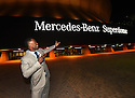 New Orleans Saints Wide Receiver Brandin Cooks outside the Mercedes-Benz Superdome, after surprising three local heroes with new Mercedes-Benz vehicles for the brand's 10 Years Stronger initiative on November 23, 2015.