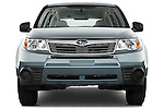 Straight front view of a 2009 Subaru Forester
