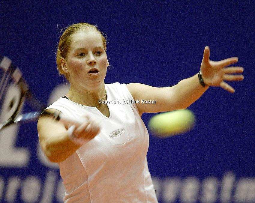 20031212, Rotterdam, LSI Masters, Tessy van de Ven plaatst zich in de halve finale ten koste van Ketelaars