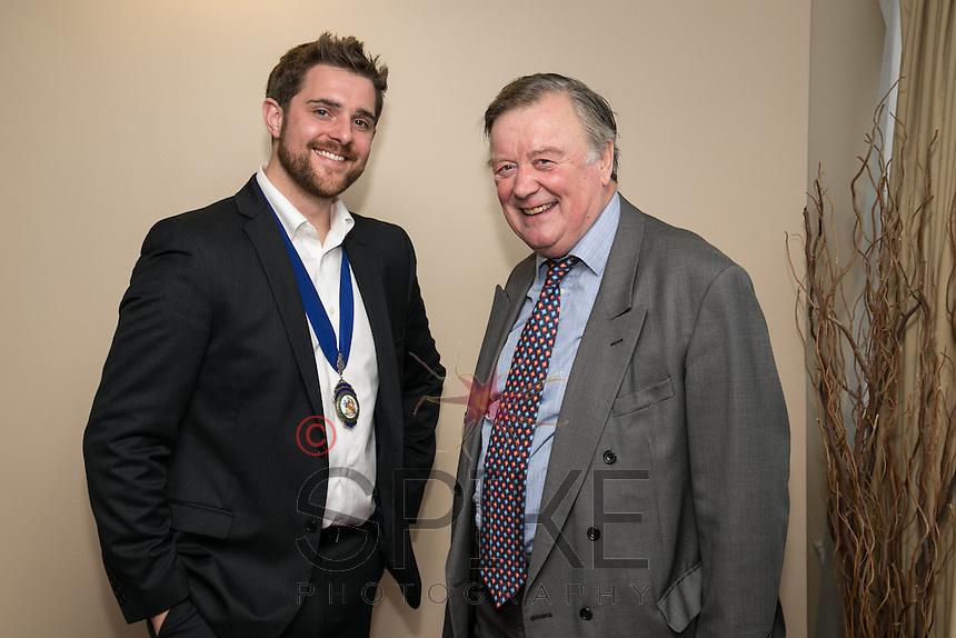 NCBC President Jonathan English and Ken Clarke MP