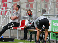 U23 coach Thomas Janssens of Belgium pictured before  a friendly female soccer game between the national teams of Luxemburg and Belgium , called the Red Flames  in a preparation towards the qualification for the  FIFA Women's World Cup , on saturday 12 th of June 2021  in Wiltz , Luxemburg . PHOTO SPORTPIX BE   SPP   SEVIL OKTEM
