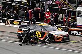 #95: Matt DiBenedetto, Leavine Family Racing, Toyota Camry Procore