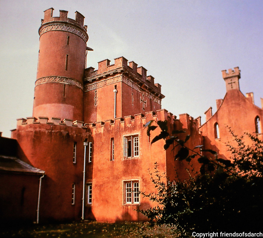 Clytha Castle, Wales, 1790. Architect, John Davenport. Home of William Jones.