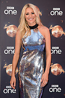 """Tess Daly<br /> at the launch of """"Strictly Come Dancing"""" 2018, BBC Broadcasting House, London<br /> <br /> ©Ash Knotek  D3426  27/08/2018"""