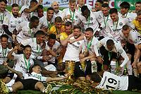 19.05.2018, Olympiastadium, Berlin, GER, DFB-Pokal, Finale FC Bayern Muenchen vs Eintracht Frankfurt<br /> , <br />DFB-Pokalwinner  2018 Eintracht Frankfurt *** Local Caption *** © pixathlon<br /> Contact: +49-40-22 63 02 60 , info@pixathlon.de