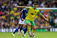 28th August 2021; Carrow Road, Norwich, Norfolk, England; Premier League football, Norwich versus Leicester; Milot Rashica of Norwich City