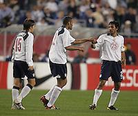 Bobby Convey, left, Tony Sanneh, middle, Pablo Mastroeni, right, Honduras v USA, 2004.