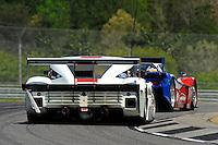 #2 Starworks Motorsport BMW/Riley of Lucas Luhr & Alex Popow and #5 Action Express Racing Corvette DP of David Donohue & Darren Law, class: Daytona Prototype (DP)