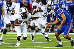 TCU Horned Frogs wide receiver Desmon White (10) in action during the game between the TCU Horned Frogs and the SMU Mustangs at the Gerald J. Ford Stadium in Dallas, Texas.