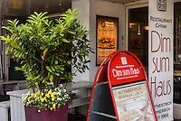 Restaurant dim sum haus, Kirchenallee 37 , Hamburg, Deutschland<br /> Restaurant dim sum haus, Kirchenallee 37 , Hamburg, Germany